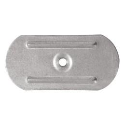 KD-03-P Stalowa podkładka dociskowa do mocowania termo- i hydroizolacji dachów płaskich 80 x 40