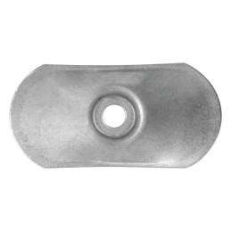 KD-03-W Stalowa podkładka dociskowa do mocowania termo- i hydroizolacji dachów płaskich 80 x 40