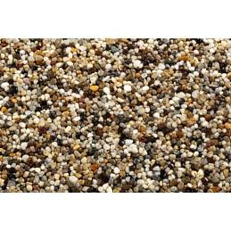 Kruszywo kwarcowe do kamiennego dywanu frakcja 2-5mm